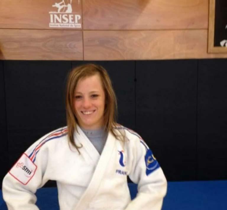 Morgane Arthuis judokate judokate pensionnaire de l Insep, elle fait confiance au coach de Vendée, Key Zen Consulting aux Sables d'Olonne
